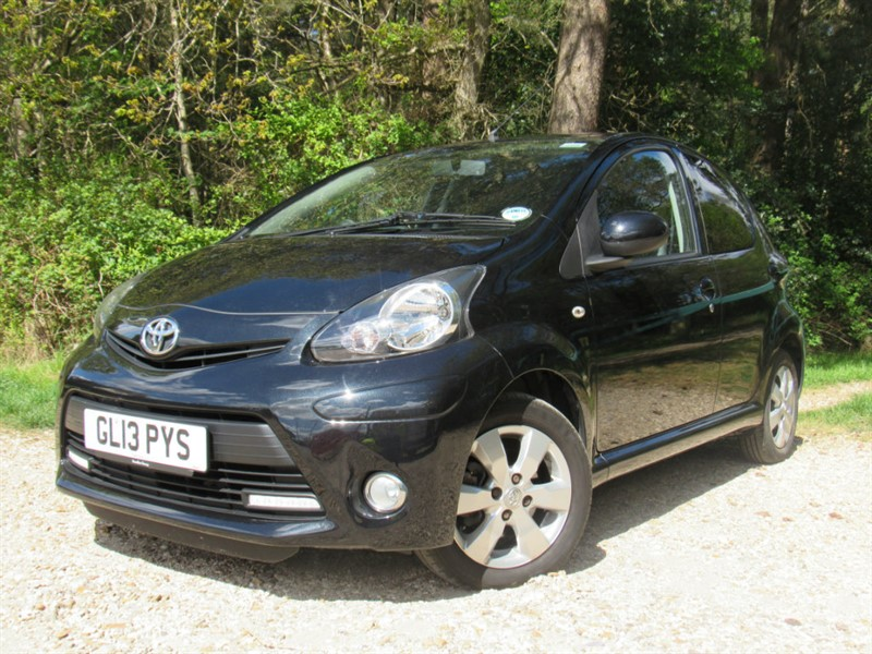 used Toyota Aygo VVT-i Fire 5dr in in-dorset