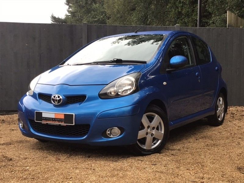 used Toyota Aygo VVT-i Blue Multimode 5dr in in-dorset