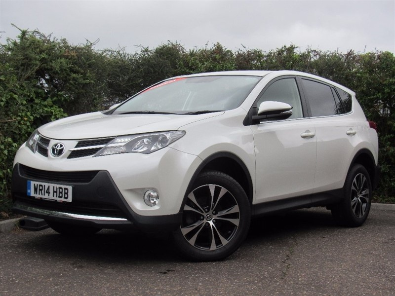 used Toyota RAV4 D Icon Station Wagon 2WD 5dr (nav) in in-dorset