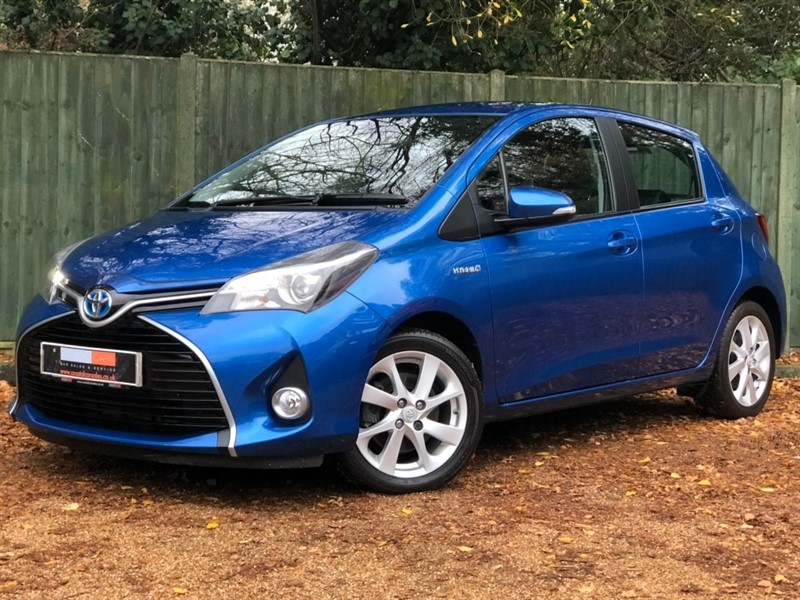 used Toyota Yaris Excel e-CVT 5dr (15in Alloys) in in-dorset