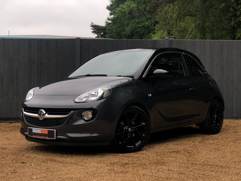 used Vauxhall Adam i SLAM Hatchback 3dr in in-dorset