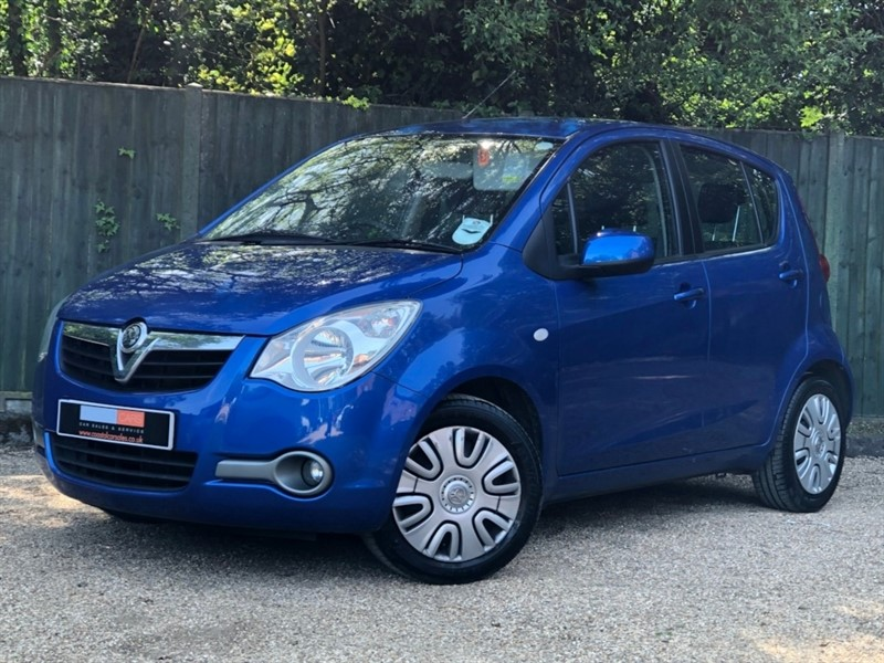 used Vauxhall Agila i ecoFLEX S 5dr in in-dorset