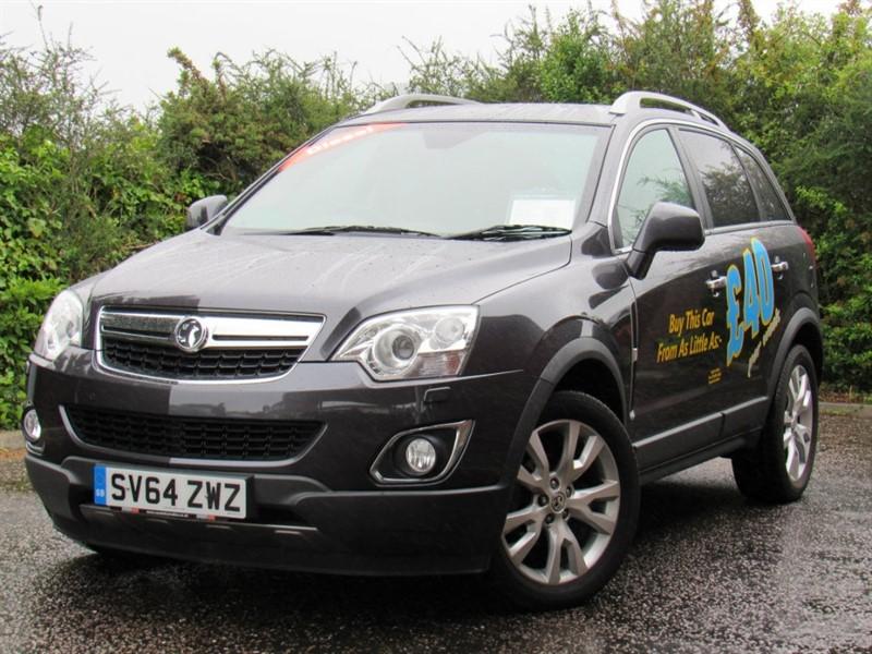 used Vauxhall Antara CDTi SE AWD 5dr (nav) in in-dorset