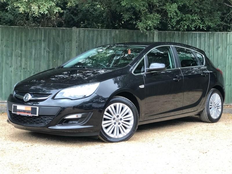 used Vauxhall Astra i VVT 16v Excite 5dr in in-dorset