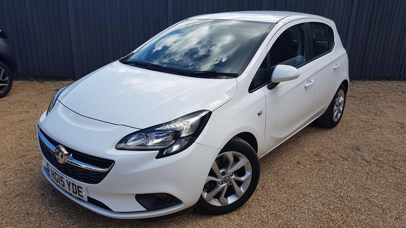 used Vauxhall Corsa i Turbo ecoFLEX Excite (s/s) 5dr (a/c) in in-dorset