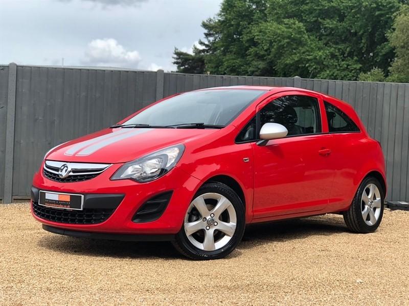 used Vauxhall Corsa i ecoFLEX 12v Sting 3dr in in-dorset