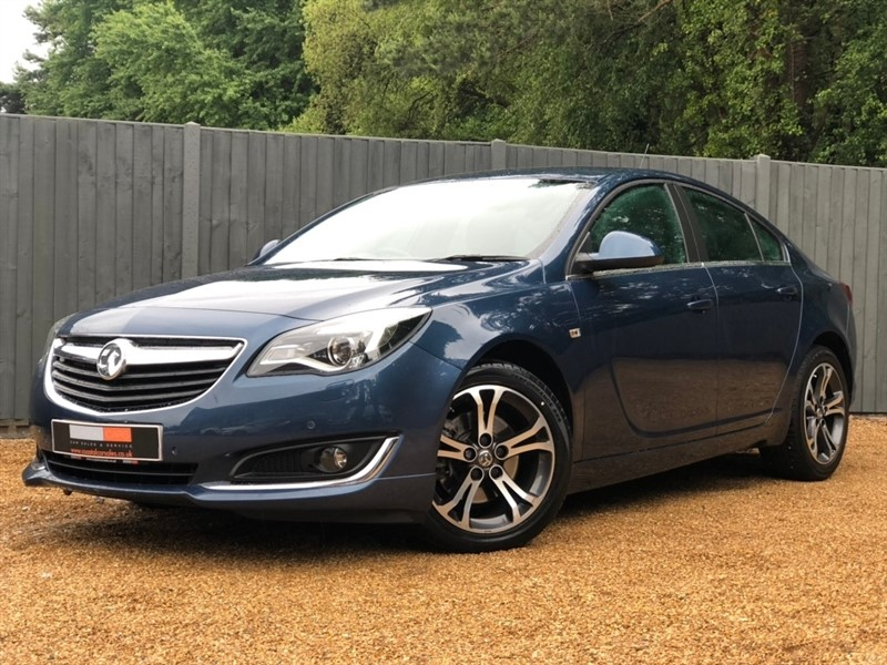used Vauxhall Insignia CDTi Limited Edition Auto 5dr in in-dorset