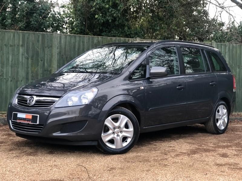 used Vauxhall Zafira i VVT 16v Exclusiv 5dr in in-dorset