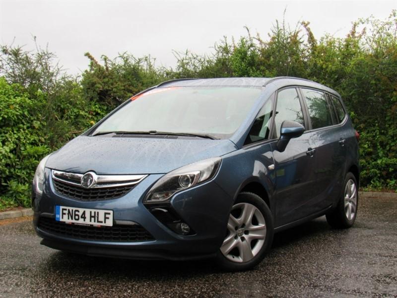 used Vauxhall Zafira Tourer CDTi 16v Exclusiv 5dr in in-dorset