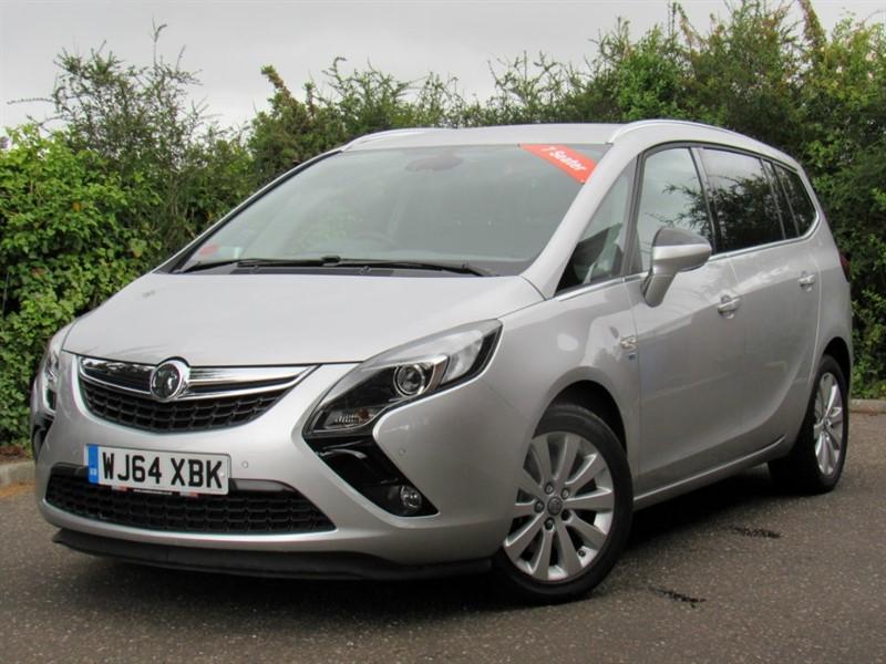 used Vauxhall Zafira Tourer CDTi 16v SE 5dr in in-dorset