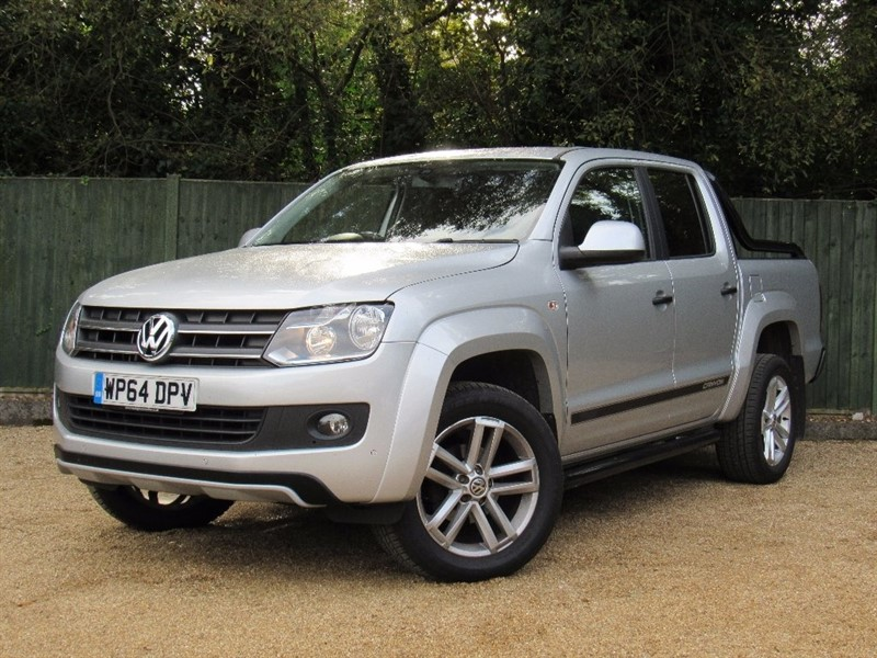 used VW Amarok BiTDi BlueMotion Tech Canyon Per Pickup 4Motion 4dr in in-dorset