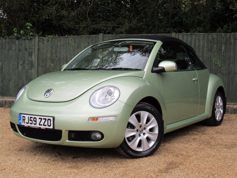 used VW Beetle T Cabriolet 2dr in in-dorset