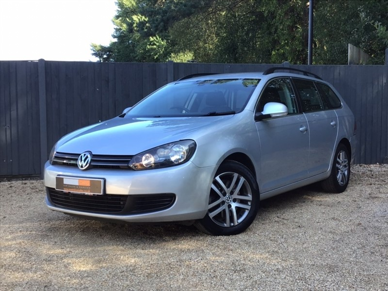 used VW Golf TDI SE 5dr in in-dorset