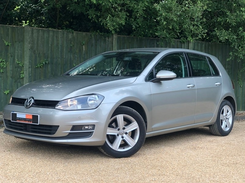 used VW Golf TDI BlueMotion Tech Match DSG (s/s) 5dr in in-dorset