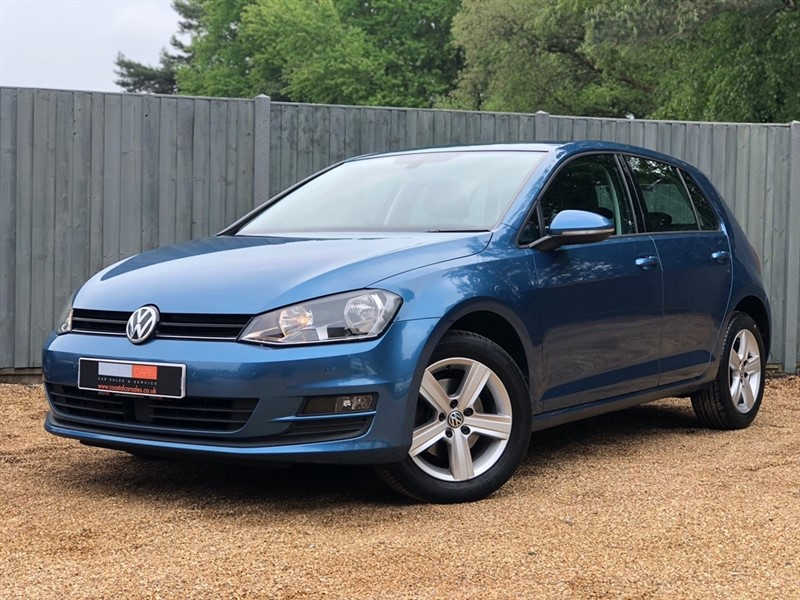 used VW Golf TDI BlueMotion Tech Match (s/s) 5dr in in-dorset