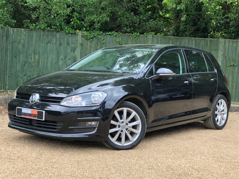 used VW Golf TDI BlueMotion Tech GT DSG (s/s) 5dr in in-dorset