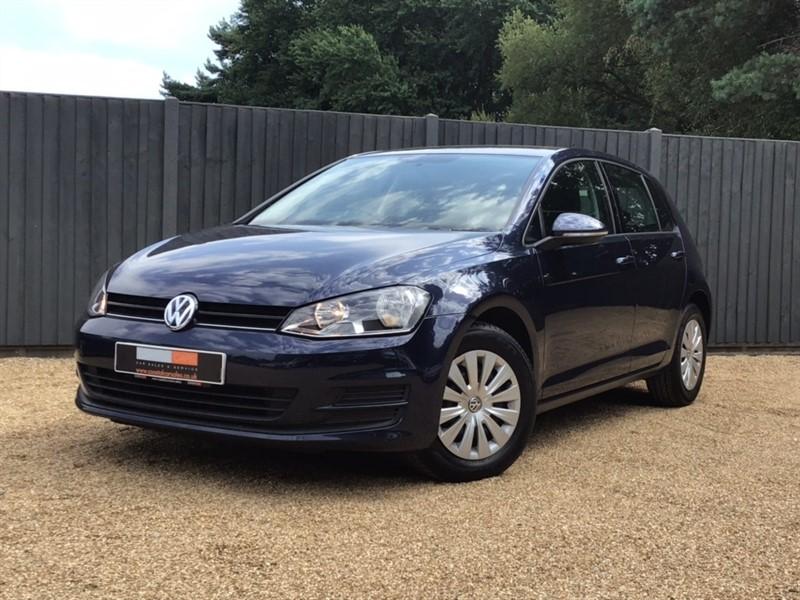used VW Golf TDI BlueMotion Tech S (s/s) 5dr in in-dorset