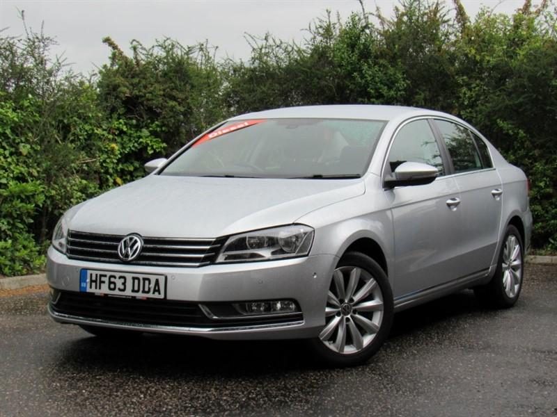 used VW Passat TDI BlueMotion Tech Highline Plus 4dr (start/stop) in in-dorset