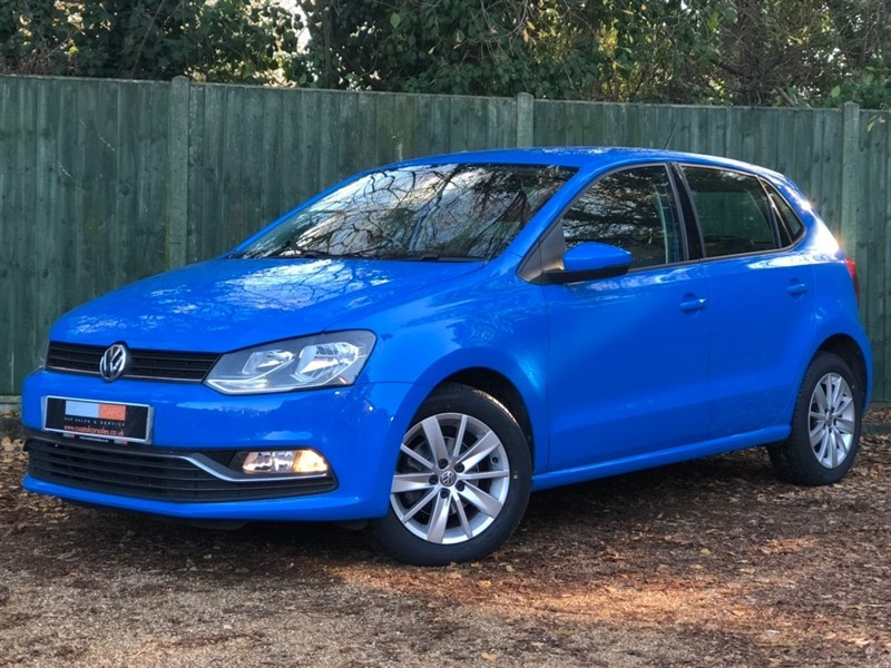 used VW Polo TSI BlueMotion Tech SE (s/s) 5dr in in-dorset