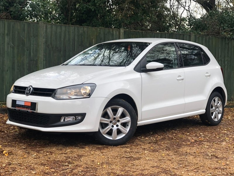 used VW Polo Match Edition DSG 5dr in in-dorset