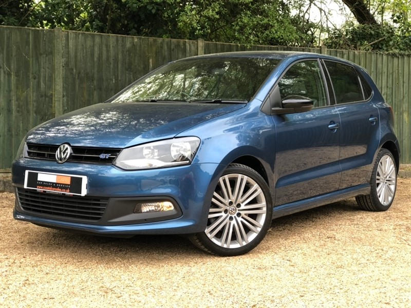 used VW Polo TSI BlueMotion Tech ACT BlueGT (s/s) 5dr in in-dorset