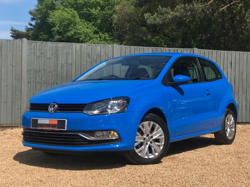 used VW Polo BlueMotion Tech SE (s/s) 3dr in in-dorset