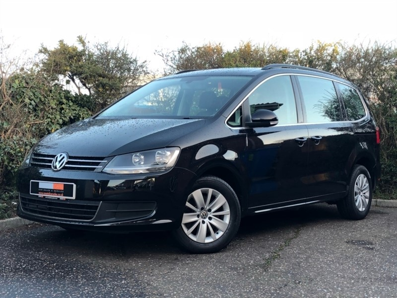 used VW Sharan TDI BlueMotion Tech SE MPV 5dr in in-dorset