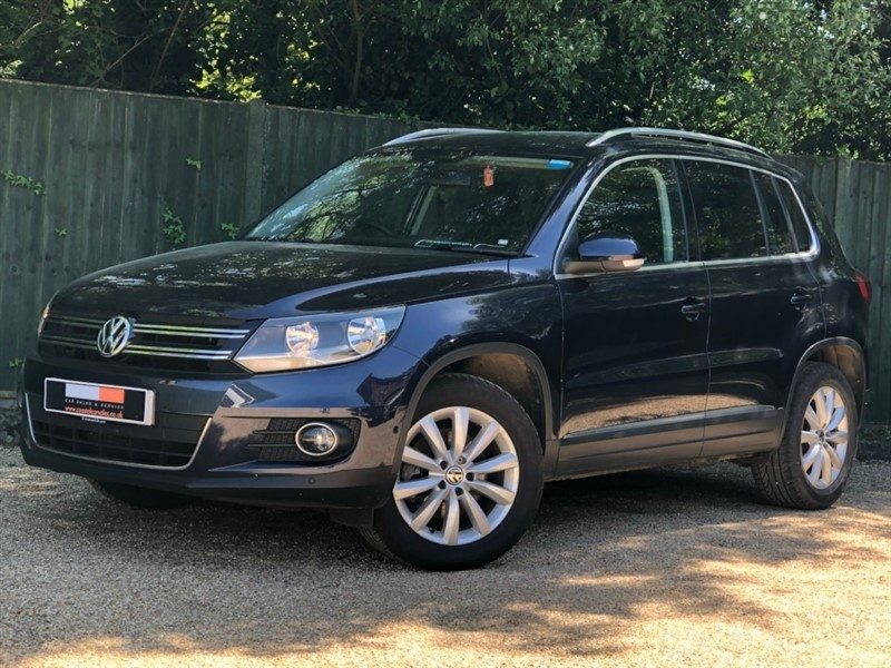 used VW Tiguan TDI BlueMotion Tech Match 2WD (s/s) 5dr in in-dorset