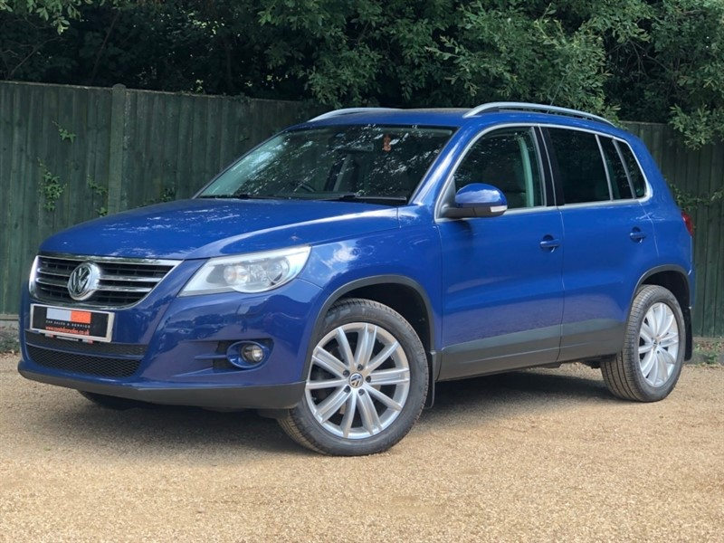 used VW Tiguan TDI SE 4MOTION 5dr in in-dorset
