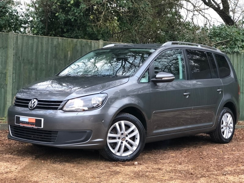 used VW Touran TDI BlueMotion Tech SE 5dr (7 Seats) in in-dorset