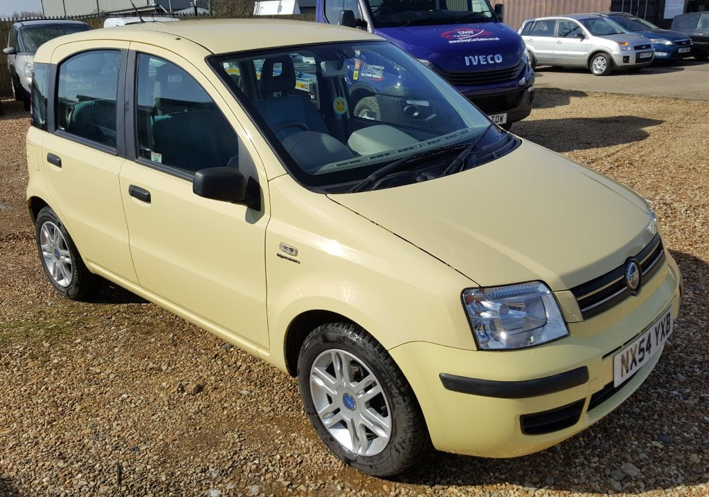 Used Yellow Fiat Panda For Sale Cambridgeshire