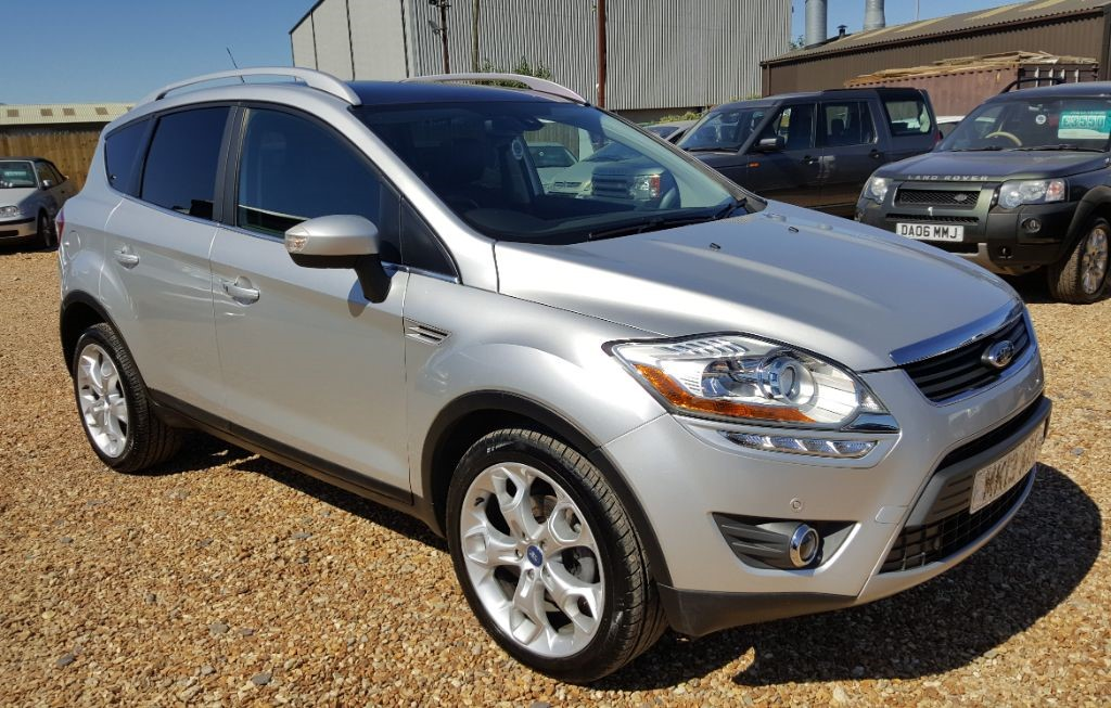 Used Silver Ford Kuga For Sale Cambridgeshire