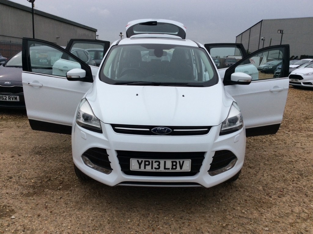Used Ford Kuga For Sale In Wisbech Cambridgeshire Dwp Car Sales