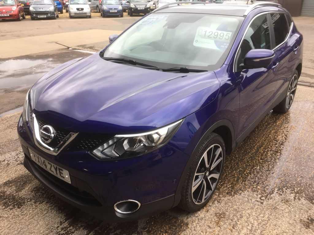 Used Blue Nissan Qashqai For Sale Cambridgeshire