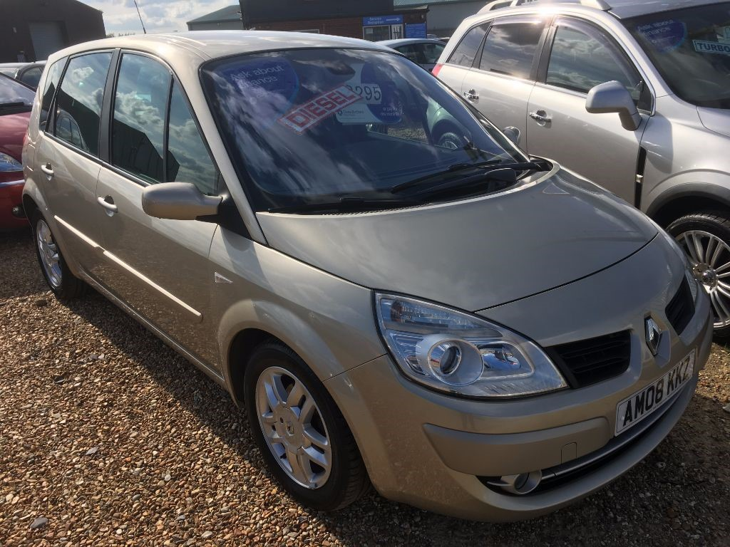Used Gold Renault Scenic For Sale Cambridgeshire