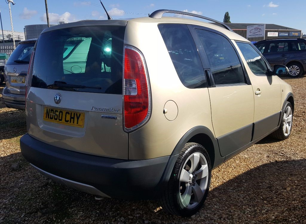 used beige skoda roomster for sale cambridgeshire. Black Bedroom Furniture Sets. Home Design Ideas