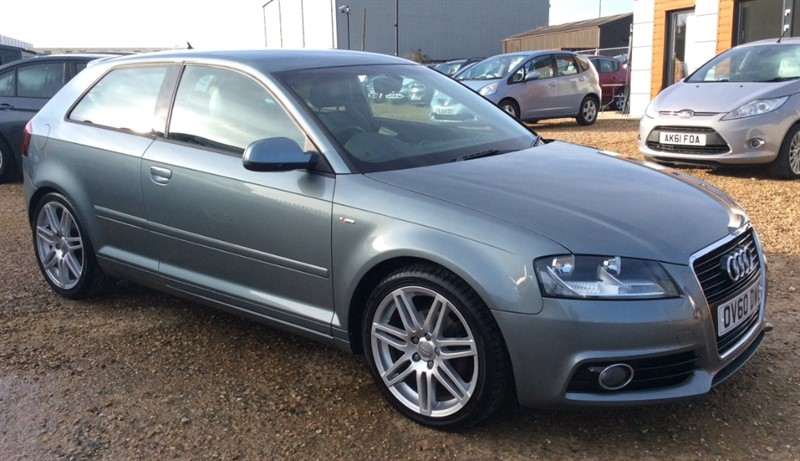 used Audi A3 TDI S LINE in cambridgeshire