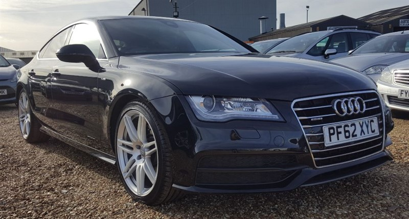 used Audi A7 TDI QUATTRO S LINE in cambridgeshire