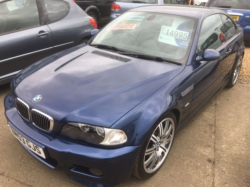 used BMW M3 SMG in cambridgeshire