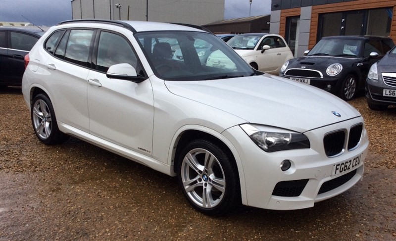 used BMW X1 SDRIVE18D M SPORT in cambridgeshire