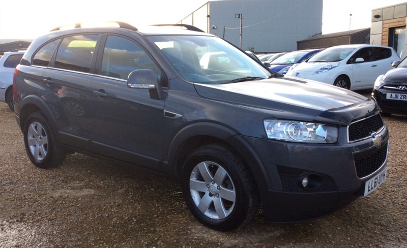used Chevrolet Captiva VCDI LT in cambridgeshire