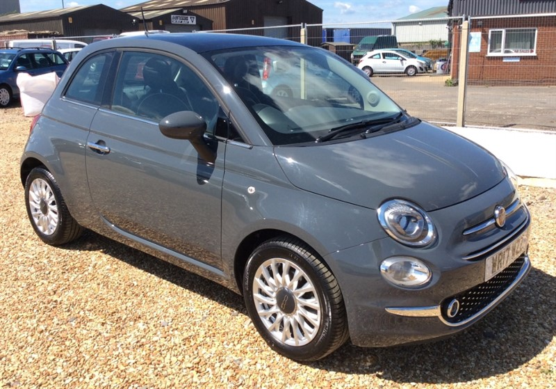used Fiat 500 LOUNGE in cambridgeshire