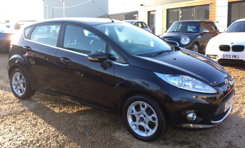 used Ford Fiesta ZETEC TDCI in cambridgeshire