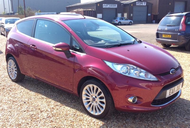 used Ford Fiesta TITANIUM TDCI in cambridgeshire