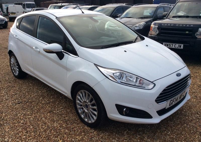 used Ford Fiesta TITANIUM in cambridgeshire