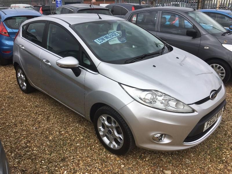 used Ford Fiesta ZETEC in cambridgeshire