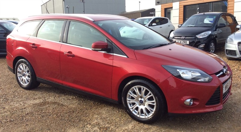 used Ford Focus TITANIUM in cambridgeshire