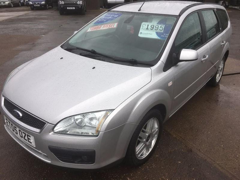used Ford Focus GHIA TDCI in cambridgeshire