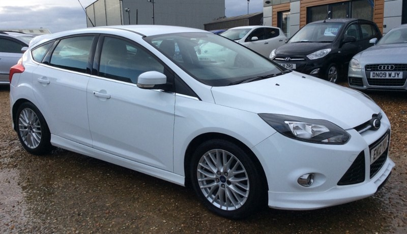 used Ford Focus ZETEC S TDCI in cambridgeshire