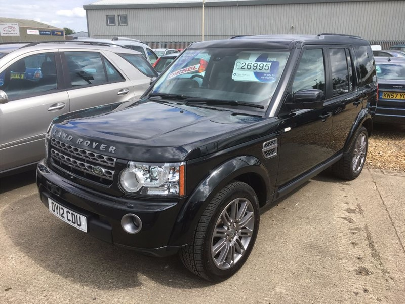 used Land Rover Discovery 4 SDV6 HSE in cambridgeshire